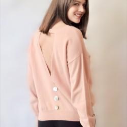 Pink Lys sweater